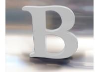 3D Buchstabe  - Freischaum