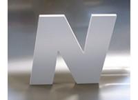 3D Buchstaben aus Hartschaum